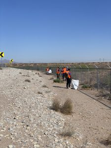 Adopt-A-Highway Clean up 375