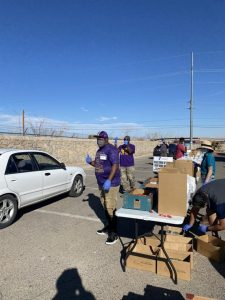 Armed Forces YMCA Food Drive